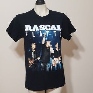 Rascal Flatts Rhythm & Roots tour tee 2017